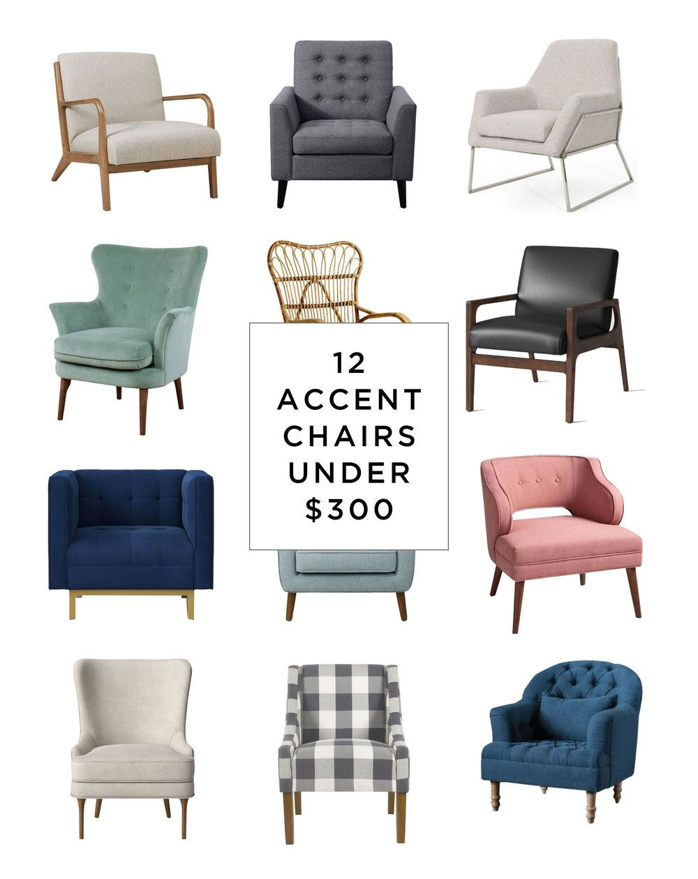 12 Amazing Chairs Under 300 Sunny Circle Studio Furniture Arrangement Accent Chairs For Living Room Accent Chairs