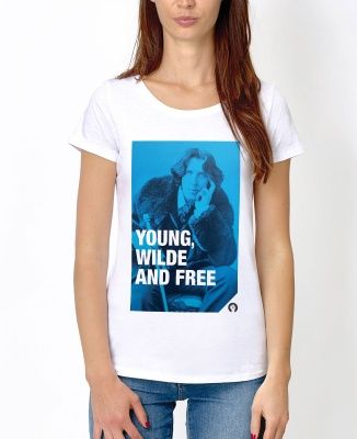 T-shirt Femme Wilde Blanc by Fists et Lettres