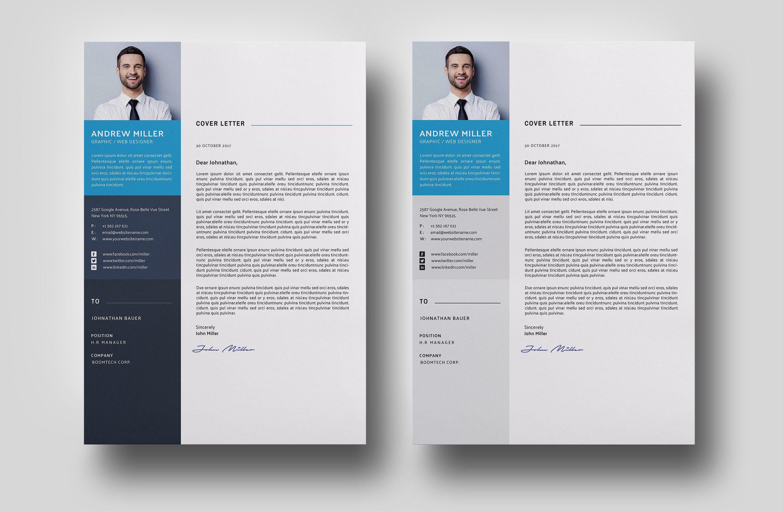 Word Cv Resume Clean Resume Template Resume Template Downloadable Resume Template