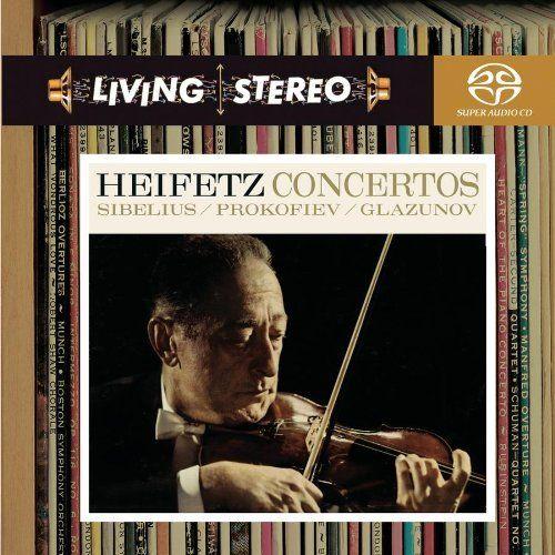 Sibelius, Prokofiev, Glazunov: Violin Concertos [Hybrid SACD] ~ Jascha Heifetz, http://www.amazon.com/dp/B0006PV5U8/ref=cm_sw_r_pi_dp_IPOYqb0P95CT5