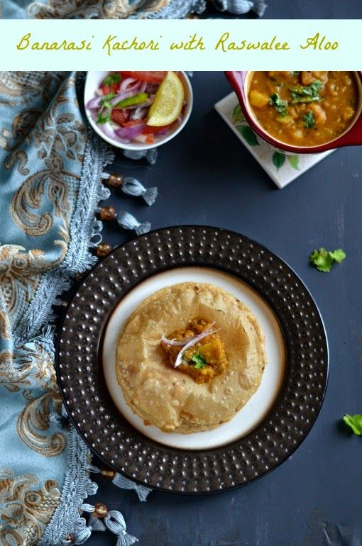 Banarasi kachori and raswale aloo indian recipes pinterest after a journey to northeastern state tripurawe are in uttarpradesh located in northern indiae state is bordered by rajasthanhary forumfinder Choice Image