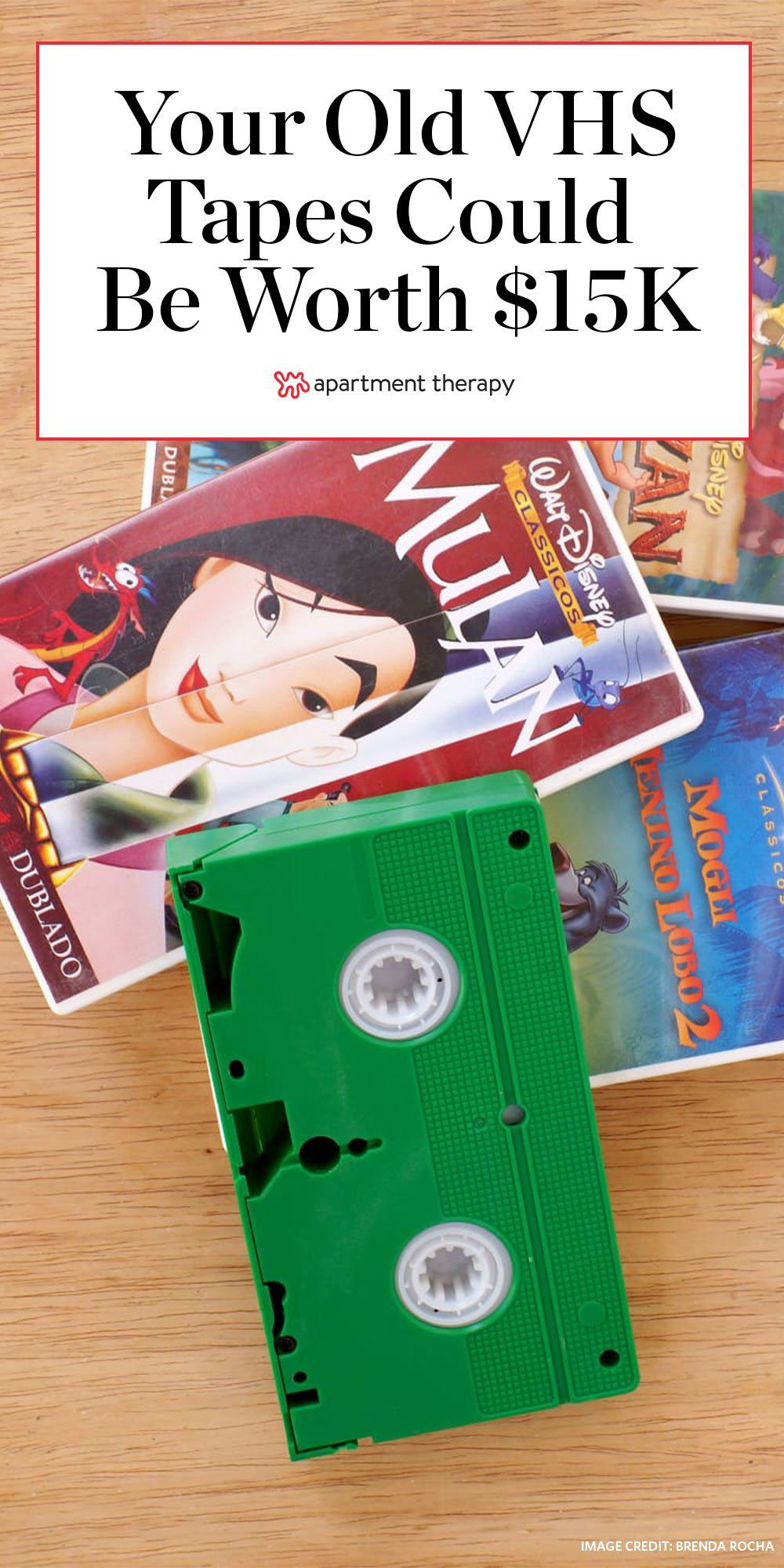 Your Old Vhs Tapes Could Be Worth Up To 15k In 2020 Vhs Tapes Vhs Disney Vhs Tapes