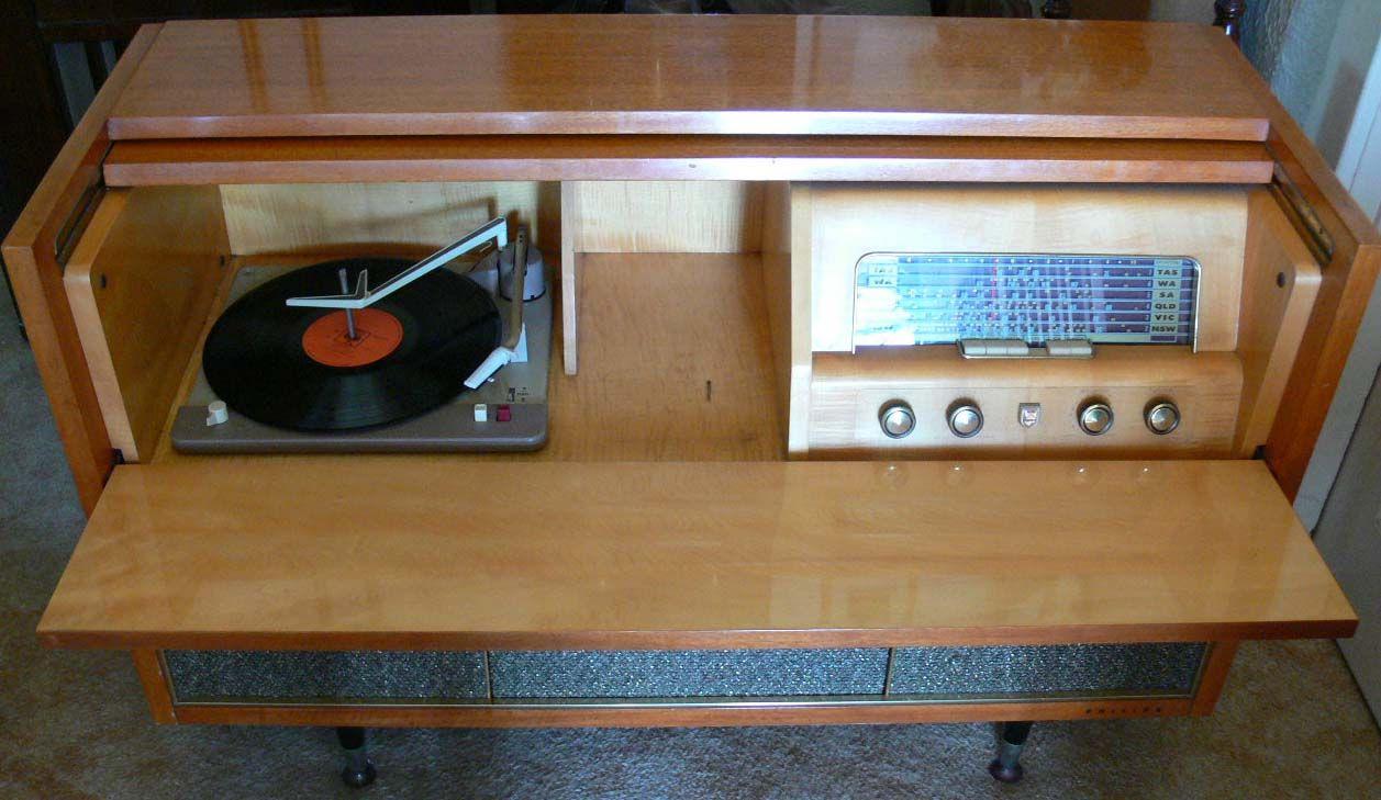 philips radiogram - Google Search | Retro Electronics | Pinterest