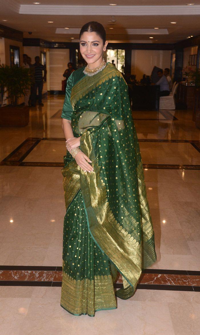 Anushka Sharma's latest saree is reminiscent of her ...
