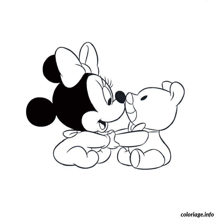 Coloriage A Imprimer Minnie Disney Coloring Pages Minnie Mouse Coloring Pages Baby Coloring Pages