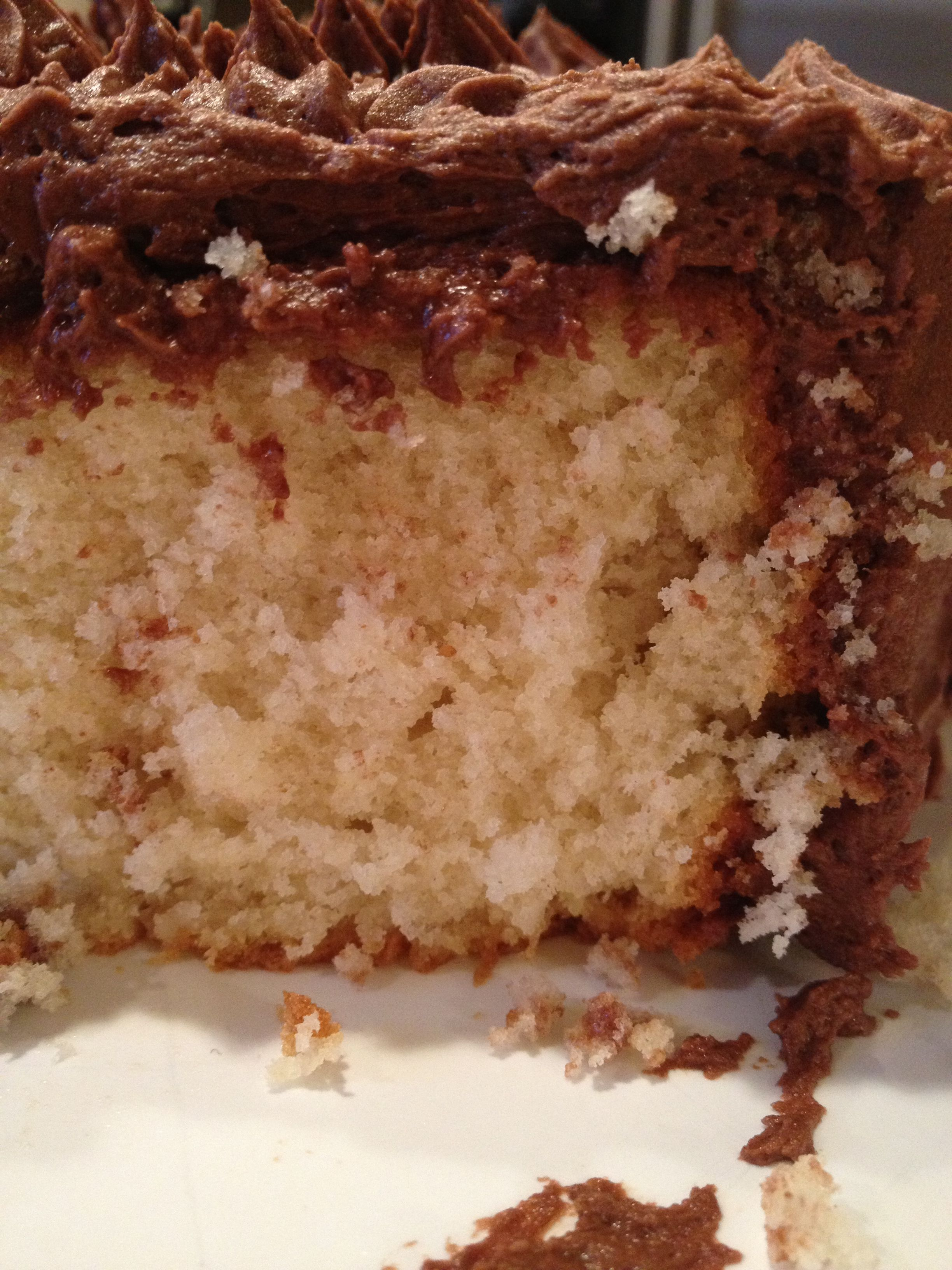 Best ever yellow cake recipe from McCall's magazine ...