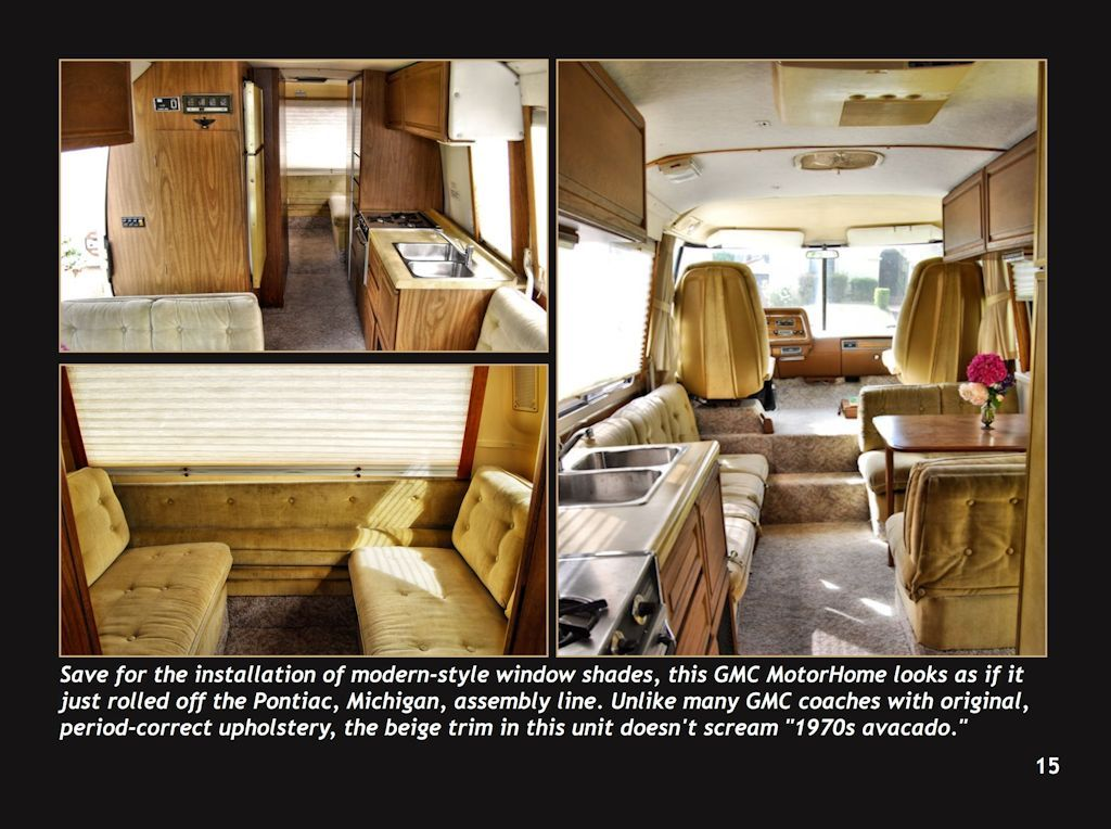 1976 Gmc Motorhome I M Pinning This For Reference To Restore A