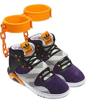 new product 58752 18f7e Jeremy Scott X Adidas Originals ankle jewelry sneaks