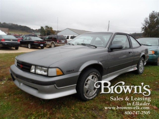 1989 Chevrolet Cavalier Z24 Coupe  Chevrolet Cars and Chevy
