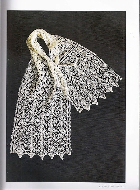 Legacy of Shetland Lace.   knit   Pinterest   Puntos y Patrones