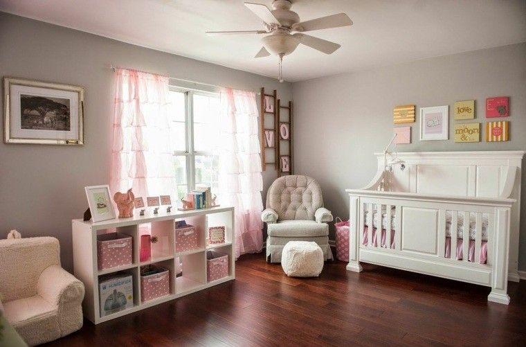 diseo decoracion habitacion bebe rosa - Decoracin Habitacin Bebe