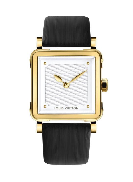 Découvrez la montre Emprise Or Serti de Louis Vuitton - Mouvement   Quartz  - Boîtier   Or jaune 3a63d5d15a8