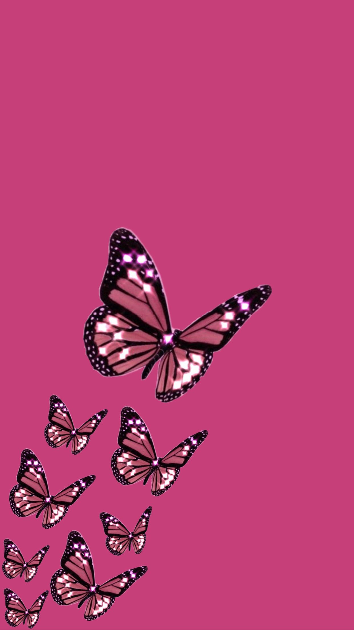 aesthetic blue butterfly emoji