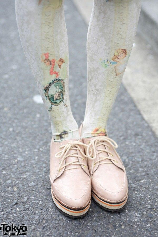 lovely tights.