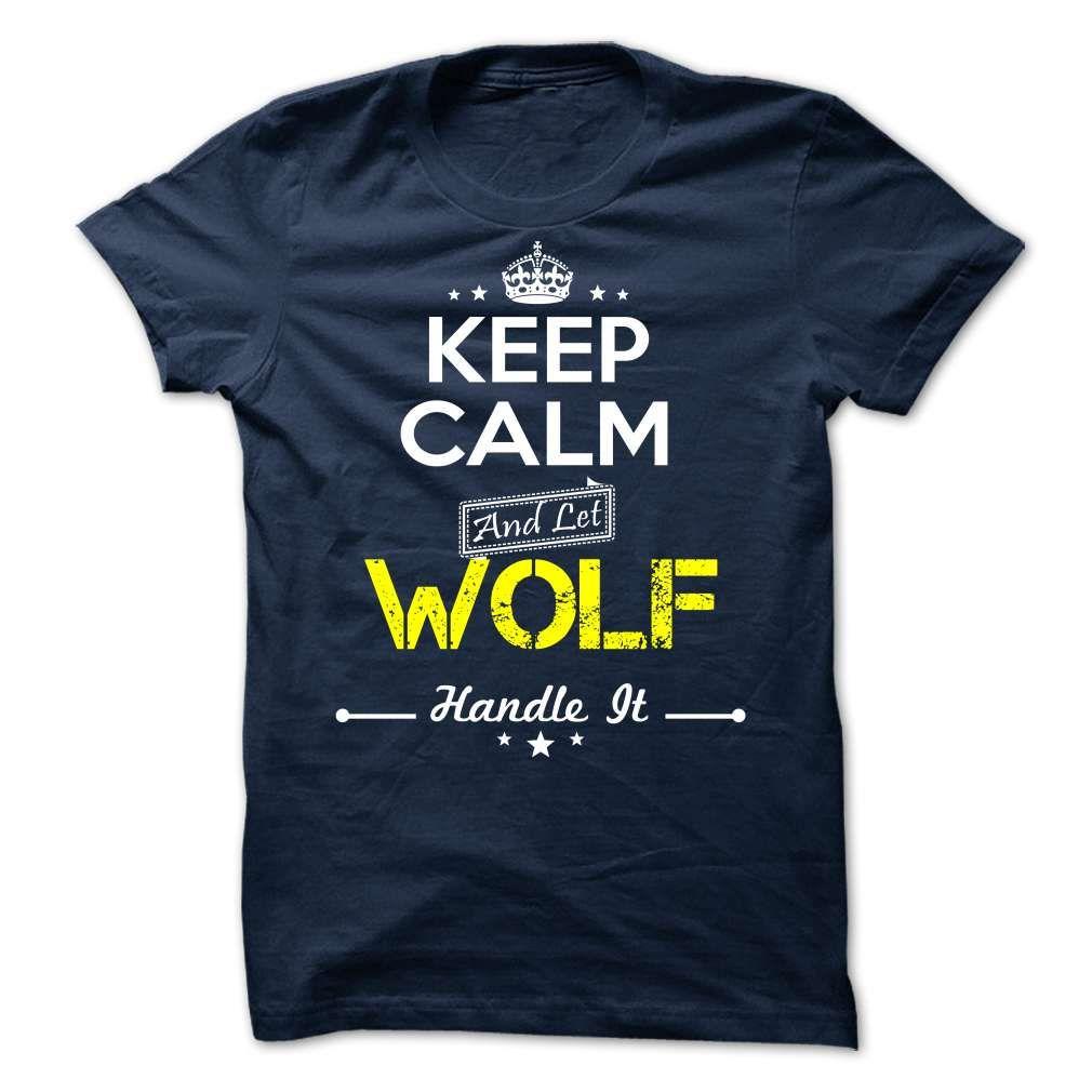 WOLF - keep calm