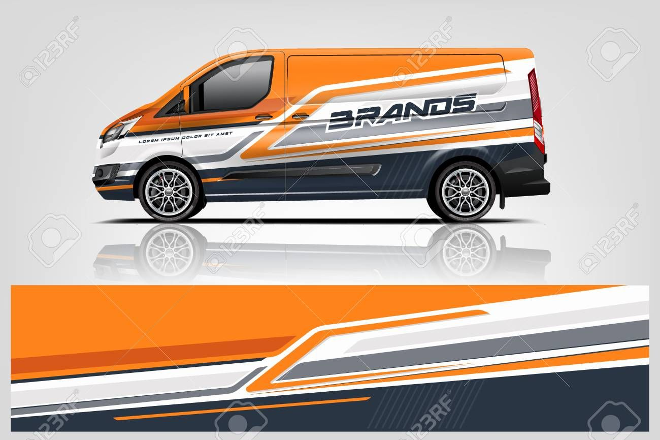 Van Wrap Design Wrap Sticker And Decal Design For Company