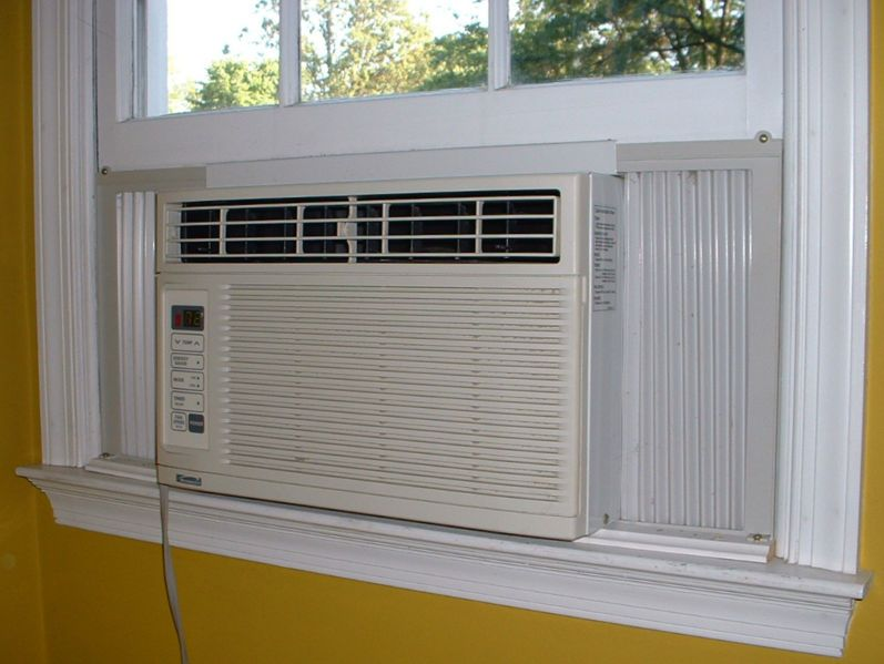 Seal Around Your Window Air Conditioning Unit To Save On Energy Bills Window Air Conditioning Units Window Air Conditioner Air Conditioner Installation