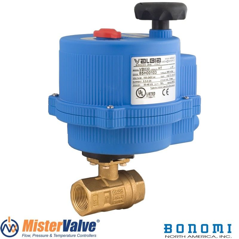 Pin On Electric Actuated Ball Valves