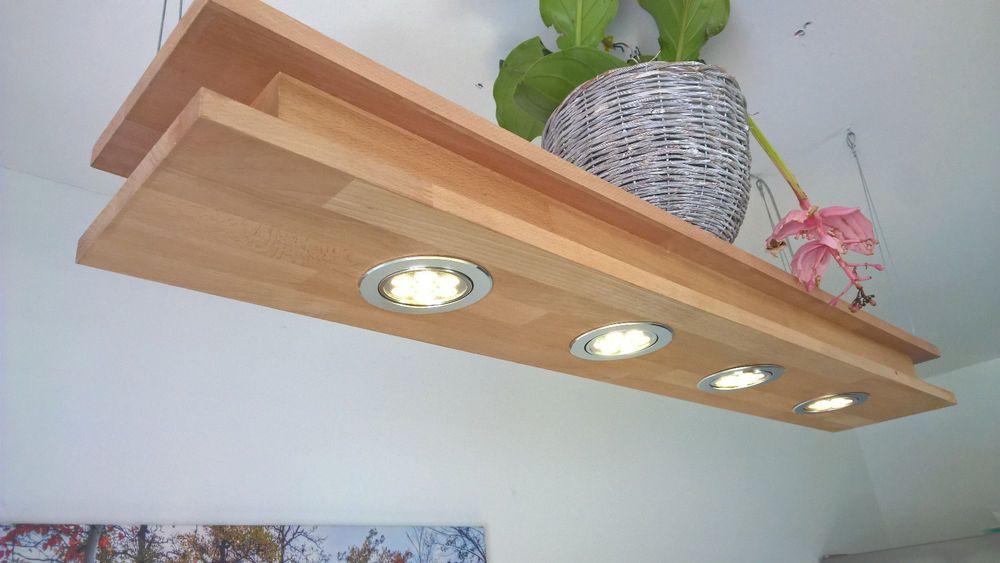 Led 80cm 120 Cm Massivholz Buche Esstischlampe Holz Decken Lampe Ebay Esstischlampe Holz Lampe Haus Deko