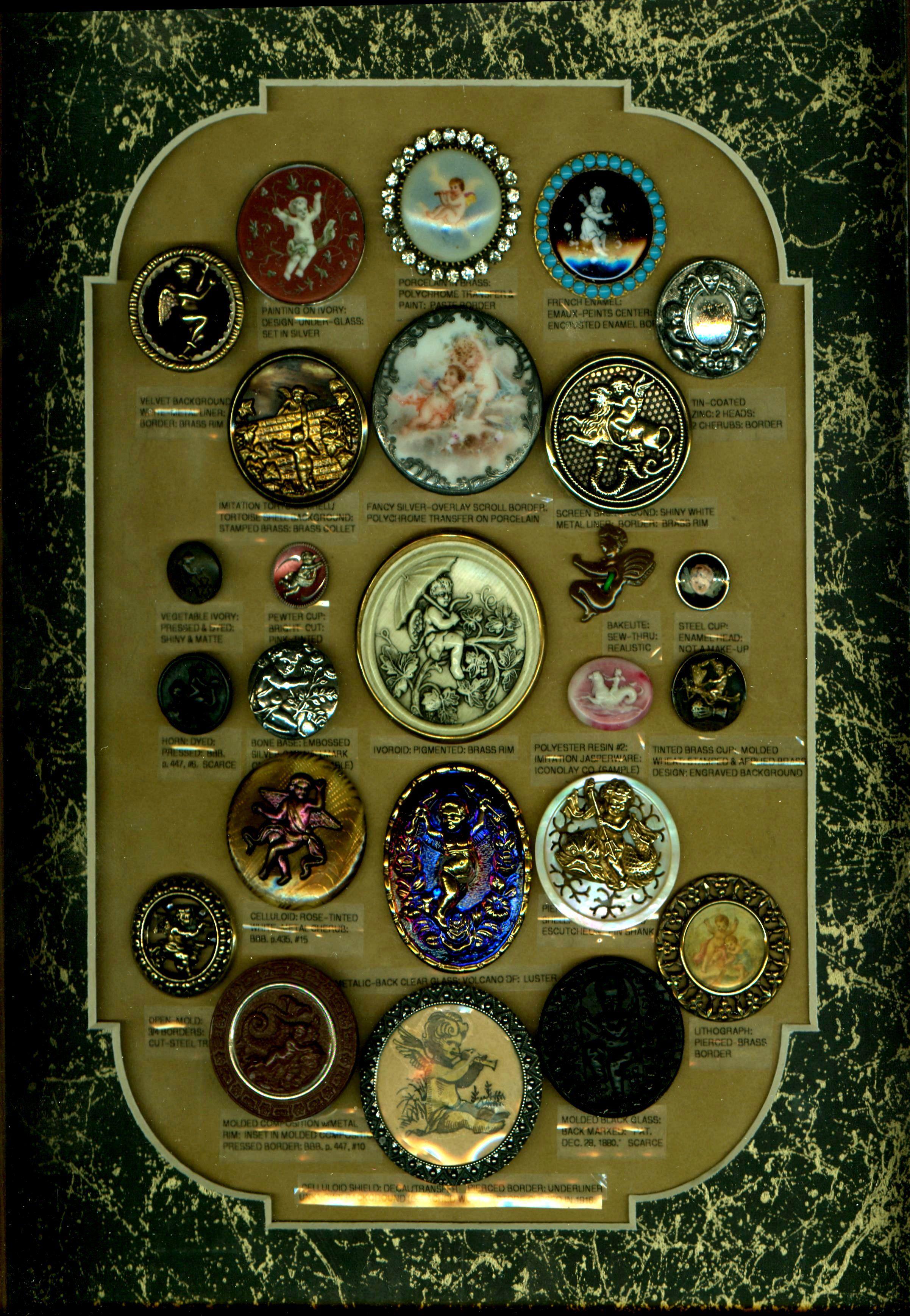 "Set 14 ORNATE Fancy FLORAL New Vintage SILVER METAL Buttons 13//16/"""