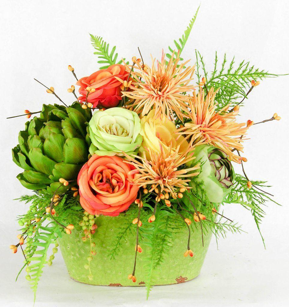Rose artichoke arrangement artichokes rose and flower arrangements rose artichoke arrangement izmirmasajfo Images