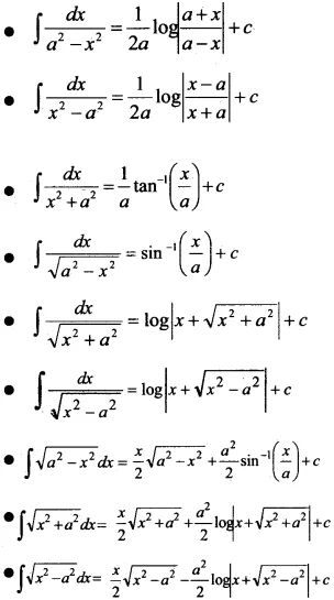 Plus Two Maths Notes Chapter 7 Integrals A Plus Topper In 2020 Math Notes Math Formulas Studying Math