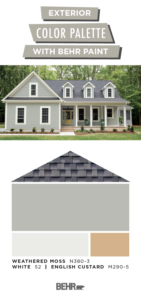 You Ve Decorated The Inside Of Your Home Now It S Time To Focus On The Outside Get Your D Grey Exterior House Colors House Paint Exterior Exterior Gray Paint