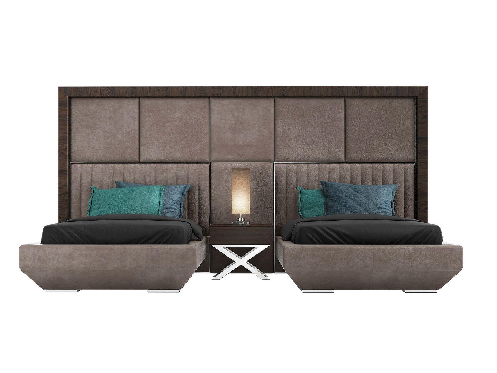 Best Single Bed With Upholstered Headboard Kimera Twin Kimera 400 x 300