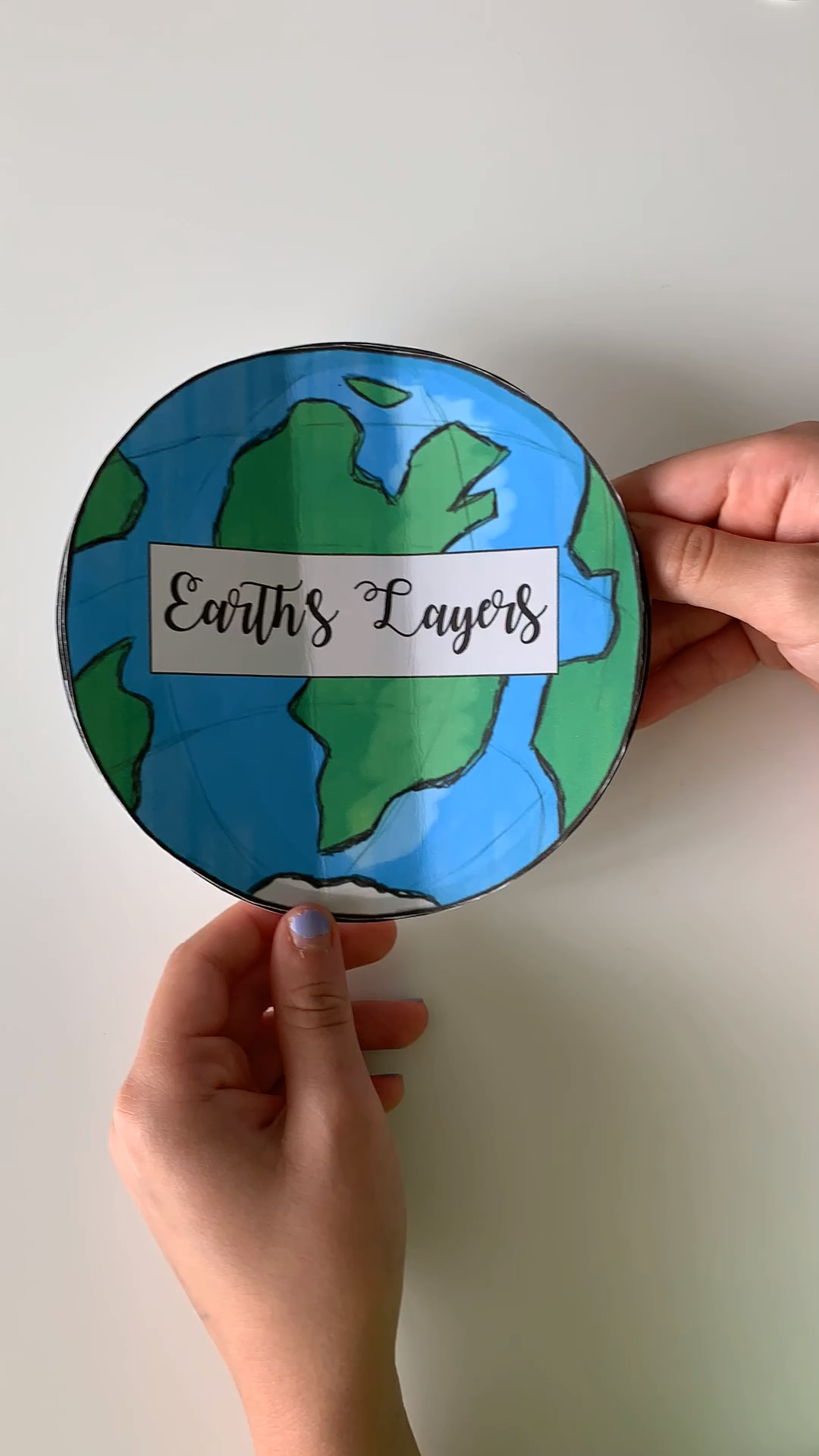 This Layers of the Earth Activity is the perfect project to use in your Earth Science Classroom! After students  learn information about the Earth's Layers through various internet websites, they write the information that they learned on this foldable activity. Hands-on and fun! #layersoftheearth #earthactivities