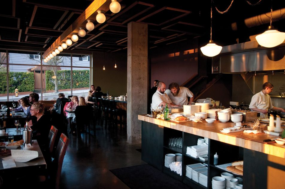 Anchovies and olives seattle eating across the globe - Restaurant interior design seattle ...