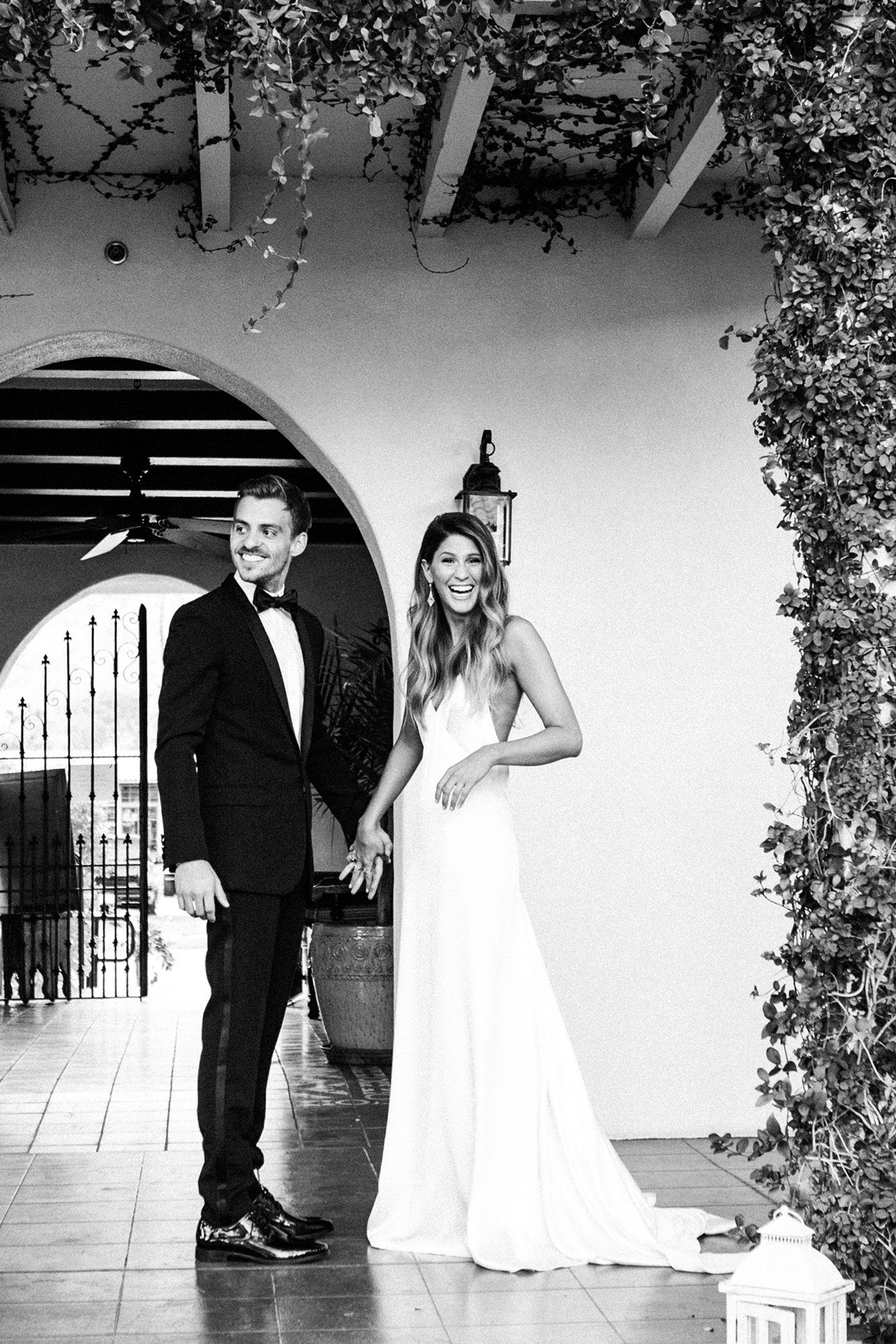 Alexandra Baschs Laid Back California Cool Wedding In Palm