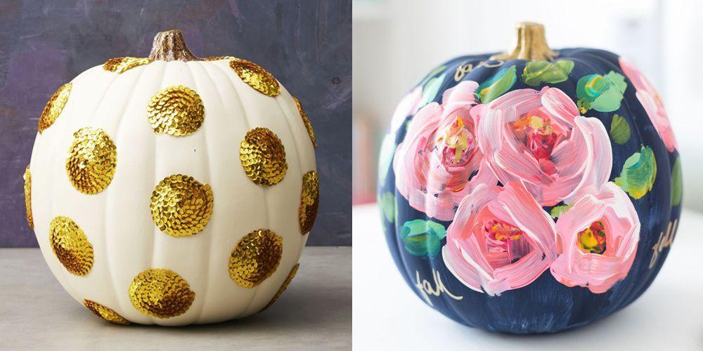 30+ Pumpkin Painting Ideas for a Colorful Halloween #pumpkinpaintingideas