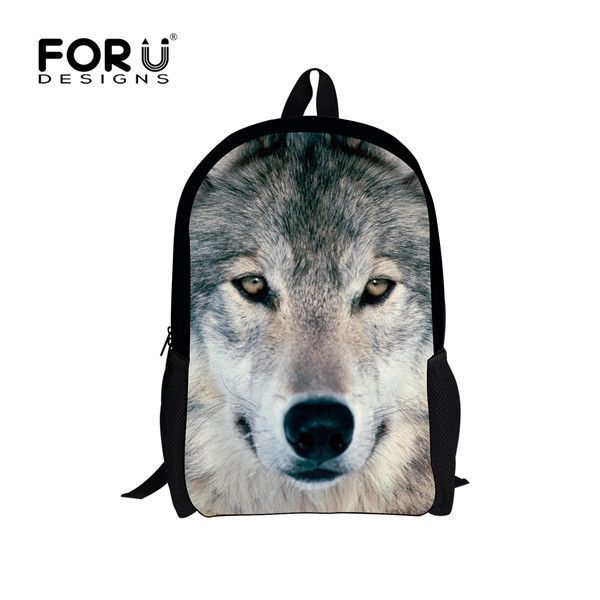 Trendy Fire Print Backpack Canvas School Bookbag Mens Boys Fashion Daypack Bags