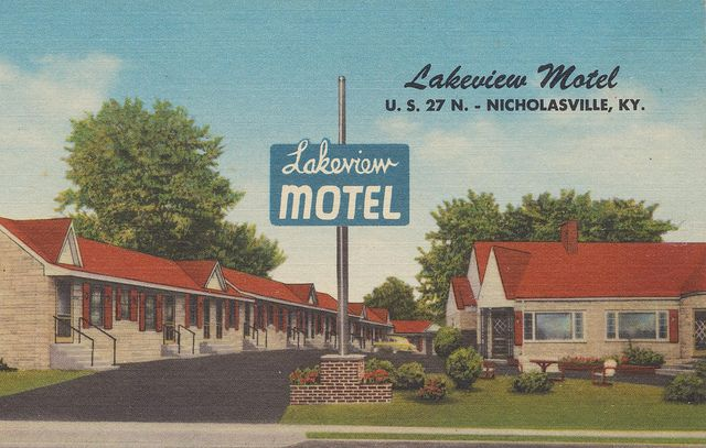 Lakeview Motel Nicholasville Kentucky By The Pie S Via Flickr