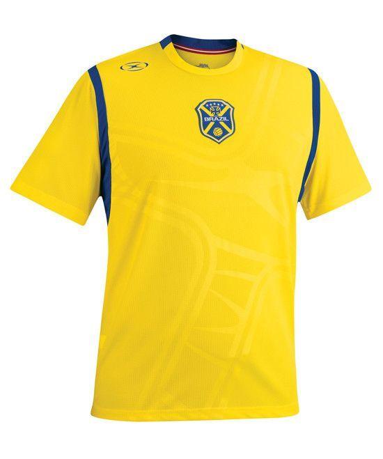 43cb4568d Xara International Brazil Short Sleeve Jersey