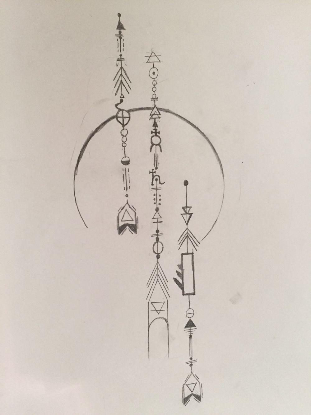Arrow Alchemy Symbol Tattoo Tattoos B In 2018 Pinterest