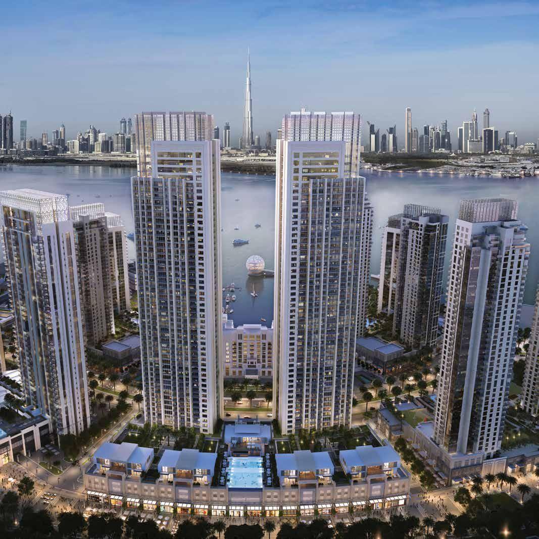 Finest Luxury Apartments For Sale In Creek Horizon, Dubai ...