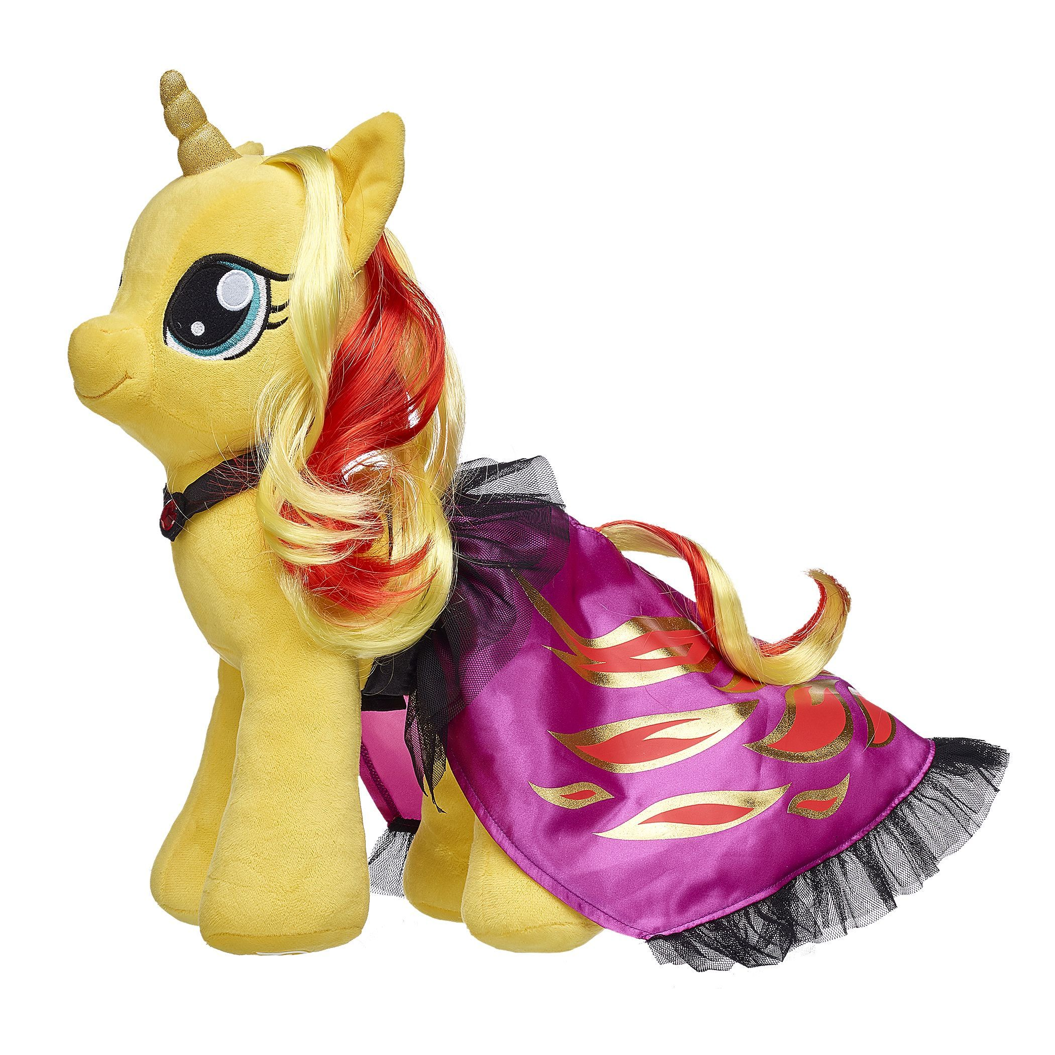 My Little Pony Sunset Shimmer Cape 2 Pc My Little Pony Plush Sunset Shimmer My Little Pony