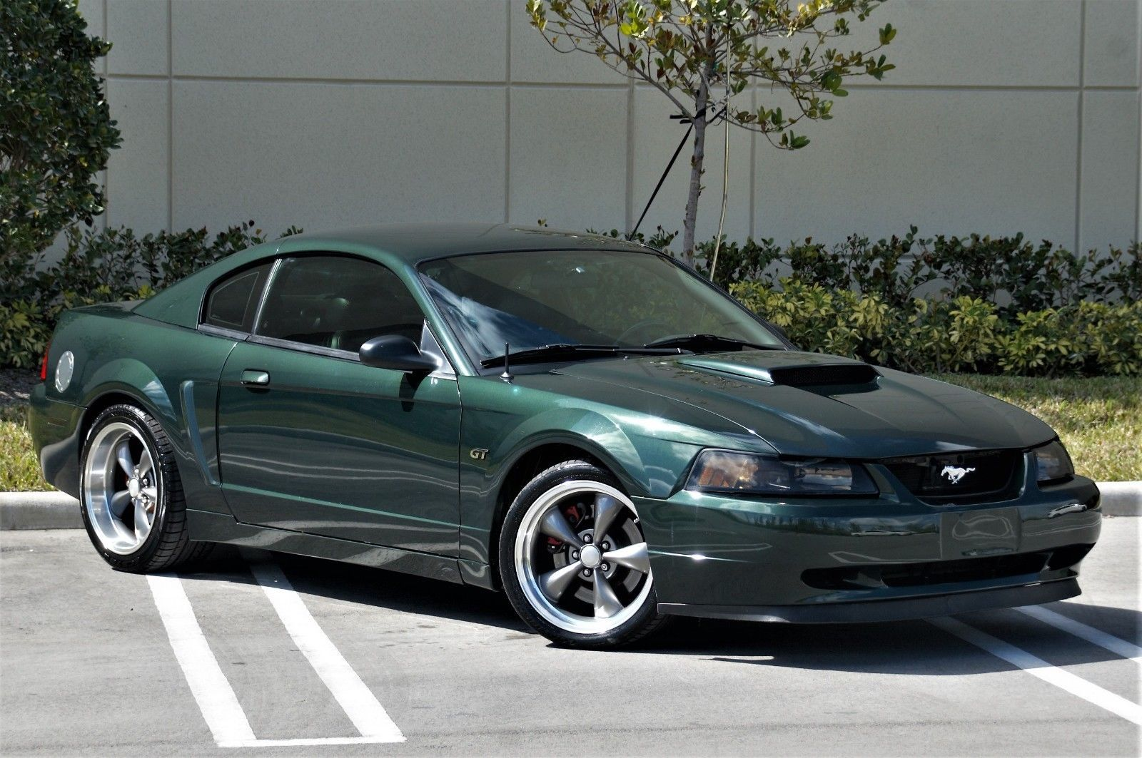 Bullitt Awesome Ford 2001 Gt Mustang Great