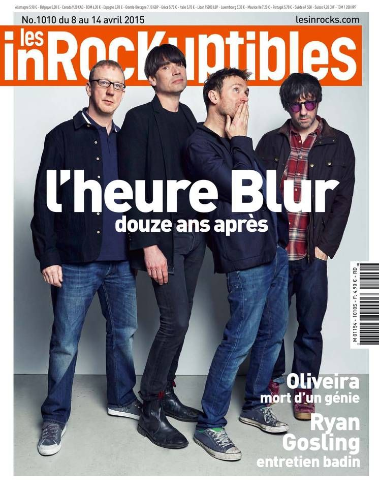 Les Inrockuptibles - N° 1010 - Mercredi 8 Avril 2015