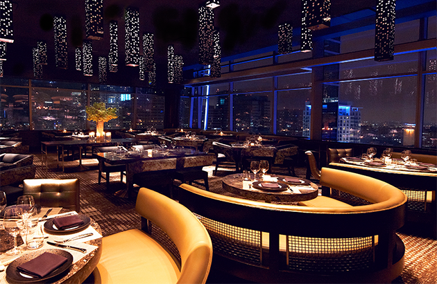 The Five Best Los Angeles Restaurants With A View Private Dining Room Restaurant Design Modern Asian
