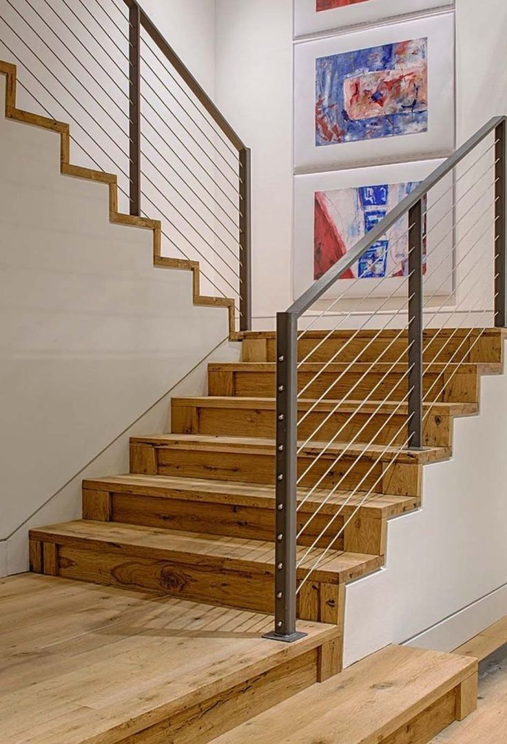 Best Basement Stair Stringer Calculator Rustic Staircase 400 x 300