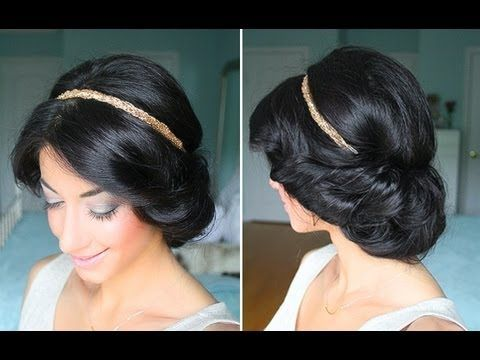 Cute & Easy Spring Up-Do #easyupdo