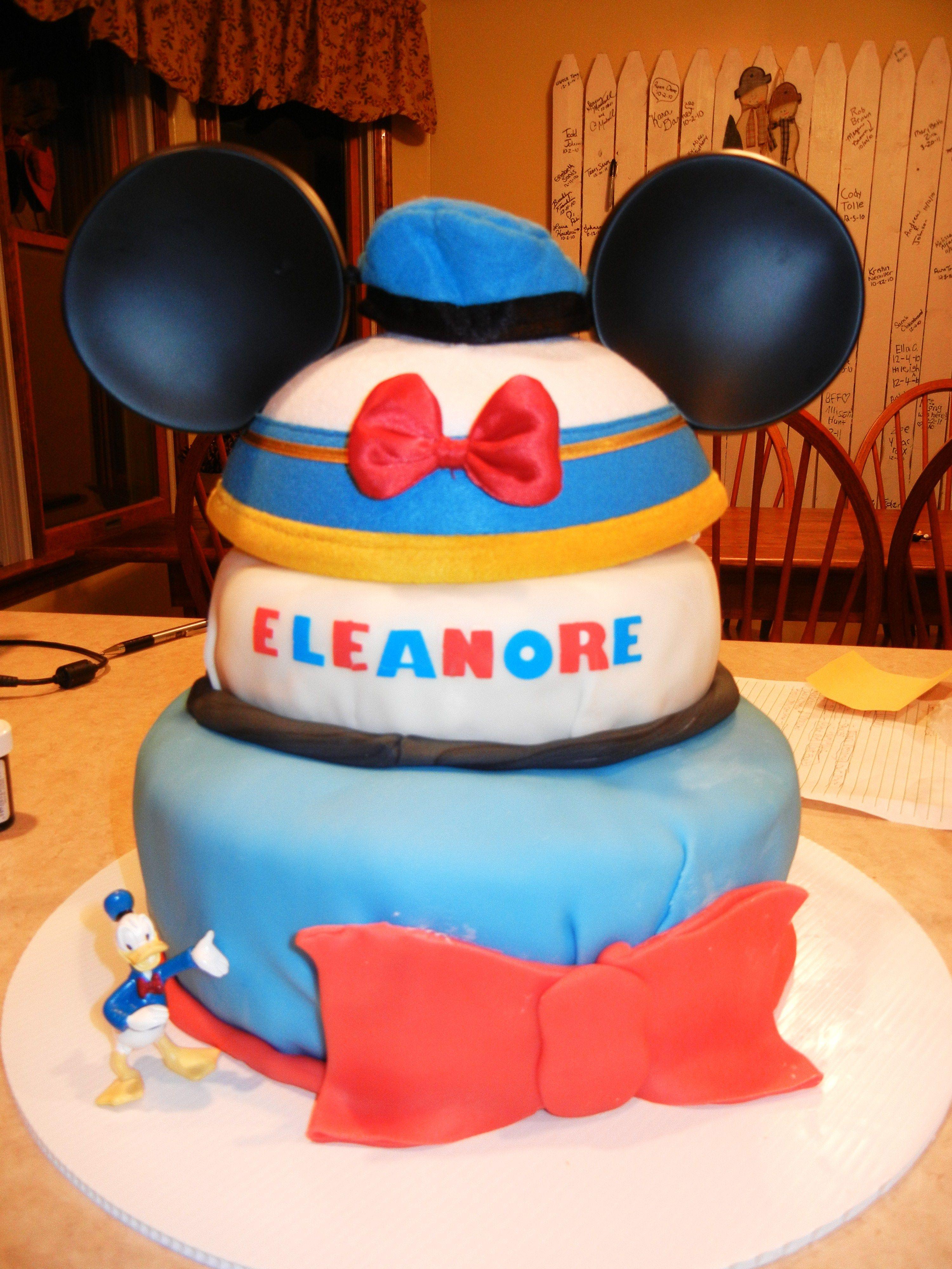 Donald Duck Birthday Cake That My Dear Friend Bridgette Warner Made