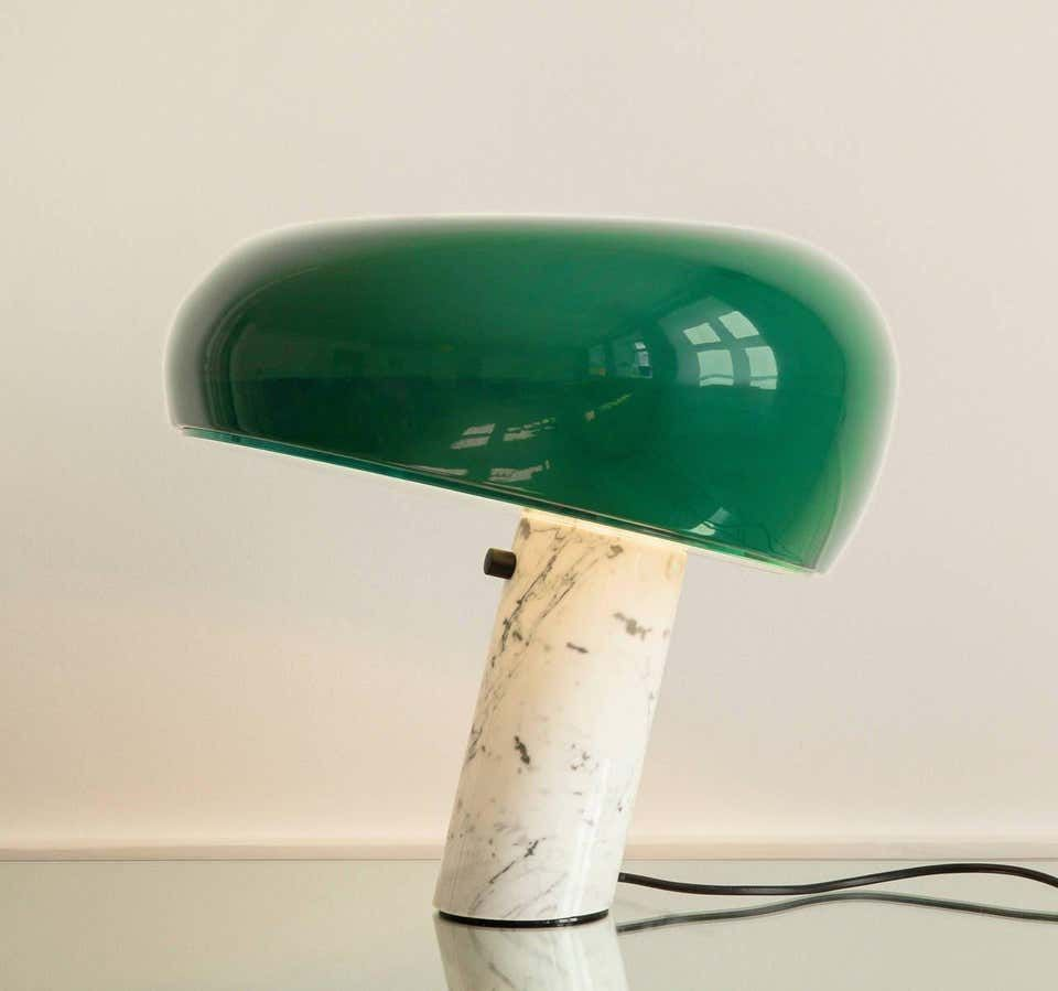 Flos Snoopy Table Lamp In Green By Achille And Pier Giacomo Castiglioni In 2020 Flos Snoopy Lamp Flos Snoopy Table Lamp