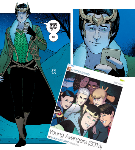 young avengers loki - Google Search