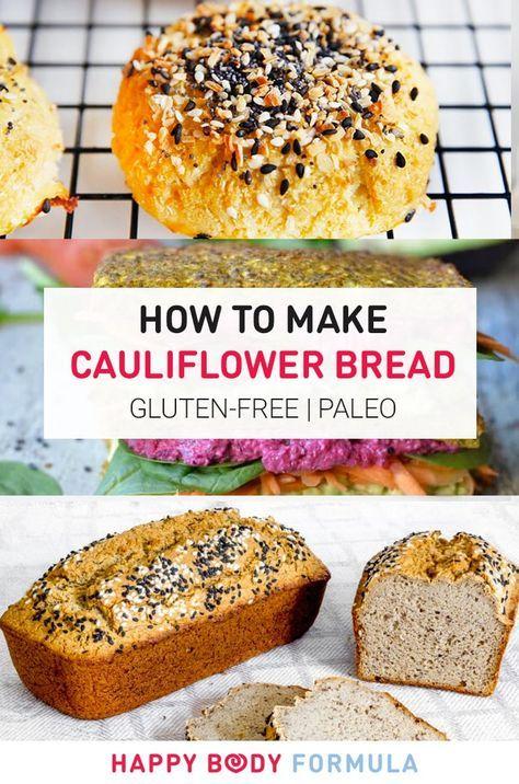 How To Make Cauliflower Bread Food To Make Pinterest Paleo