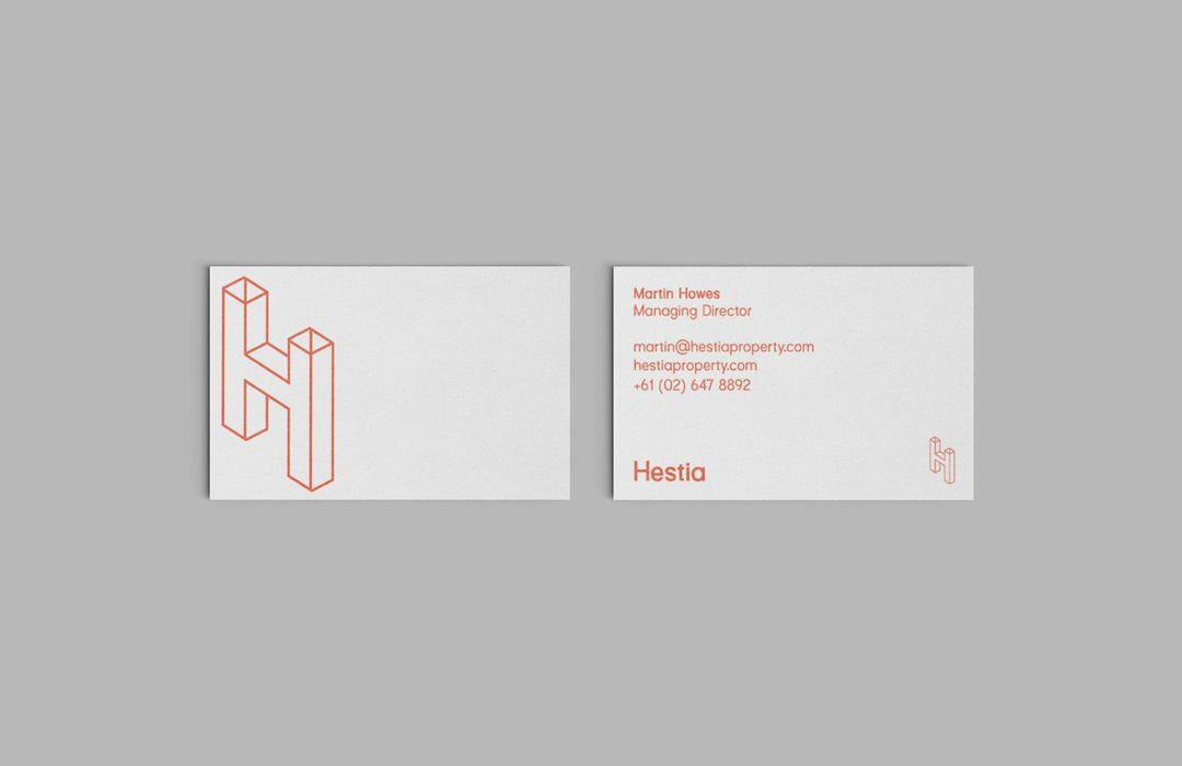 Branding & Identity Design_Hestia Property | Newcastle, Australia ...