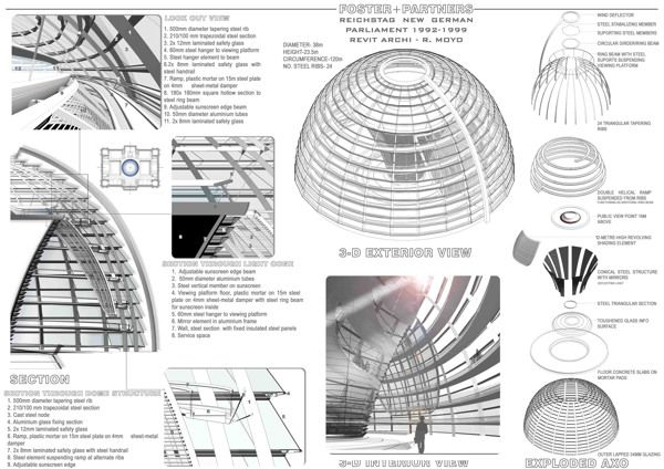 The Reichstag Architecture Dome Structure