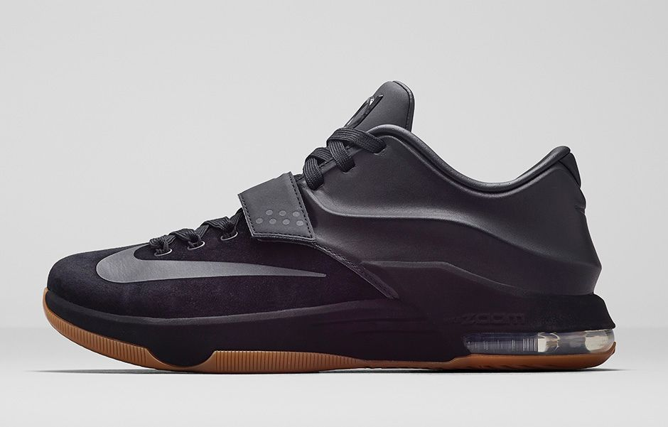 Nike KD 7 Black Suede Gum